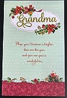 従来のおばあちゃん新しいWonderfulクリスマスグリーティングカード