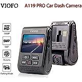 VIOFO A119 Pro Car Dash Cam HD 1440P 2.0 inch TFT LCD Screen Capacitor Novatek 96660 H.264 2K (Without GPS Mount)