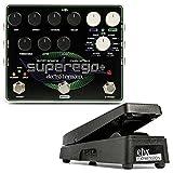 【純正エクスプレッションペダル付】electro-harmonix エレクトロハーモニックス Superego Plus Superego+ Synth Engine Multi Effect シンセエンジン マルチエフェクト