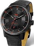 vostok-europe gaz-limoブラックPVD Watch with Trigalightガスチューブイルミネーション5654140