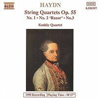Haydn: String Quartets Op. 55 (1994-02-15)