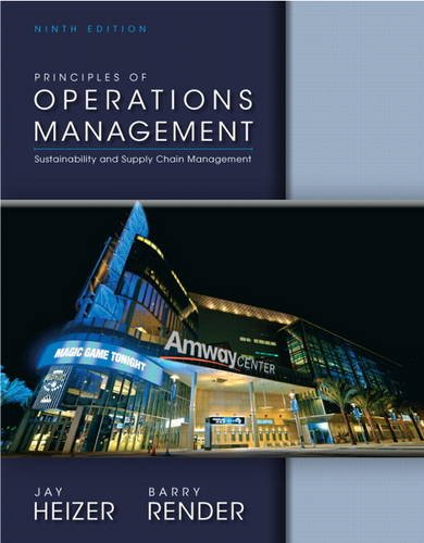Download Principles of Operations Management (9th Edition) 0132968363