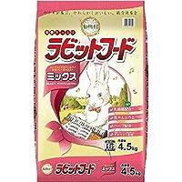 (まとめ買い)イースター うさぎ用フード 動物村 ラビットフード ミックス 4.5kg 【×3】