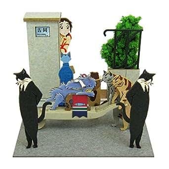 さんけい スタジオジブリmini 猫の恩返し 猫の行列 ノンスケール ペーパークラフト MP07-62