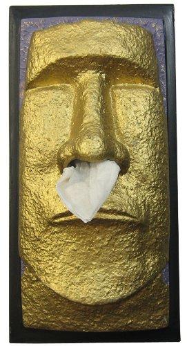 ロータリーヒロ MOAIティッシュケース 黄金のモアイ RH-303