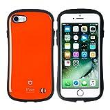 iPhone7 ケース カバー iFace First Class ストラップホール付き 正規品 / オレンジ