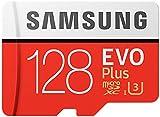 Samsung microSDXC カード 128GB EVO+ Class10 UHS-I U3対応 最大読込速度 100MB/s W:90MB/s 4K MB-MC128GA サムスン