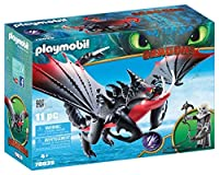 PLAYMOBIL® How to Train Your Dragon III Deathgripper with Grimmel [並行輸入品]