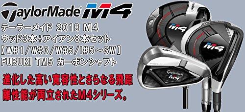 テーラーメイド 2018 M4 フルセット