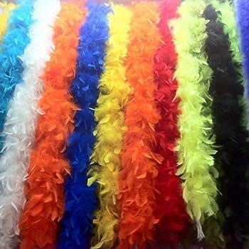 羽毛 ストール マフラー 2m 羽 羽根 文化祭 コスプレ 結婚式 装飾 フェザー 舞台 ステージ 衣装 素材 DIY 羽飾り モール リボン (ブラック)