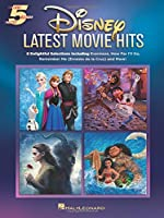 Disney Latest Movie Hits (Five-finger Piano)