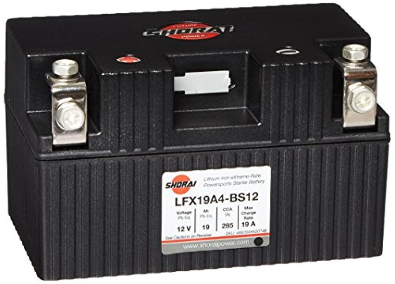 チーターパースブラックボロウ軽蔑SHORAI LFX バッテリー LFX19A4-BS12