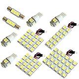 【断トツ282発!!】 120系 ランドクルーザープラド(ランクル) LED ルームランプ 10点セット [H14.10~H21.8] トヨタ 基板タイプ 圧倒的な発光数 3chip SMD LED 仕様 室内灯 カー用品 HJO
