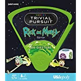 Trivial Pursuit Rick and Morty - Quick Play Version | Trivia Questions Based on The Adult Swim Show Rick and Morty | Officially Licensed Rick and Morty Game
