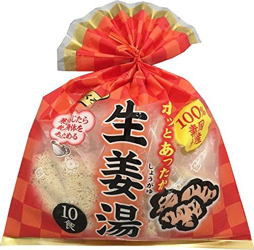 大阪ぎょくろえん ホッとあったか生姜湯 10食入 200g