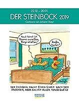 Der Steinbock 2019. Sternzeichen-Cartoonkalender: 22.12.-20.01.