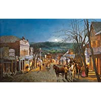 SunsOut Moonrise Over Grass Valley Jigsaw Puzzle (550-Piece) by SunsOut