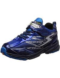 [スーパースター] 幅広 ワイド 3E 運動靴 通学履き バネ バネのチカラ 軽量 ゆったり SS J817