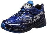 [スーパースター] 幅広 ワイド 3E 運動靴 通学履き バネ バネのチカラ 軽量 ゆったり SS J817 ブルー 195(19.5 cm)