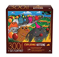 Cardinal Games Exploding Kittensジグソーパズル(300ピース)、マルチカラー