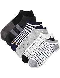 (ハルサク) HARUSAKU シンプル 靴下 メンズ おしゃれ くるぶし ソックス カジュアル スニーカー 25~29 cm セット