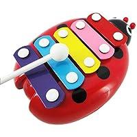 Susenstone??Child Kid 5-Note Xylophone Musical Toys Wisdom Development Beetle by Susenstone??610 [並行輸入品]