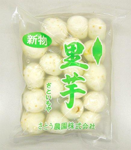 芋煮用 生の里芋(洗い&むき)400g