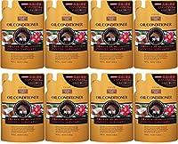 【まとめ買い】熊野油脂 ディブ 3種のオイル コンディショナー(馬油・椿油・ココナッツオイル) 400ml×8個