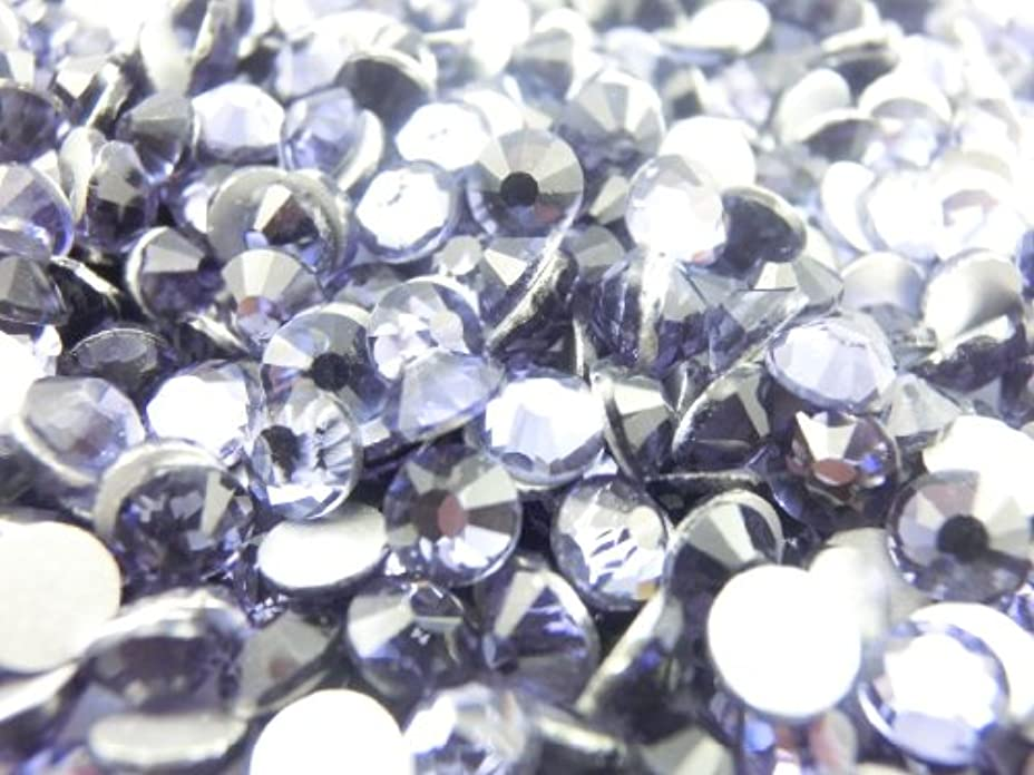 ローン虚弱潜在的な【ラインストーン77】 超高級 ガラス製ラインストーン SS4~SS30 タンザナイト スワロフスキー同等 (全サイズ)