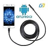 高解像度 USB接続 エンドスコープ (android 対応 LED 内視鏡)防水1m