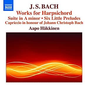 Bach, J.S.: Works for Harpsich