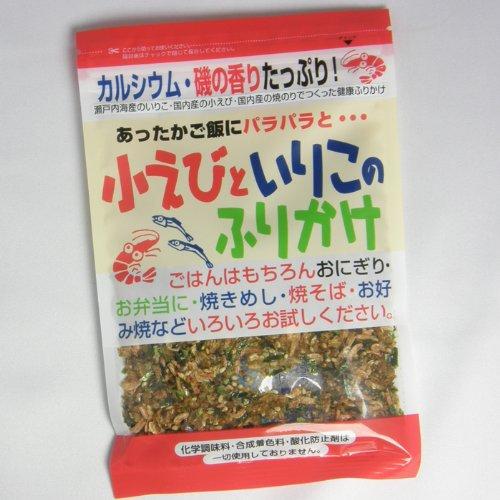 【千代の一番】小エビと炒り子のふりかけ 最高級 天然 国産 乾燥 海産物 無添加 35g
