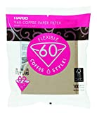 Hario 02 100 Count Coffee Paper Filter, Natural [並行輸入品]