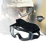 在庫限り!実物ESS製 米軍特殊部隊仕様 ESSプロファイル NVGゴーグル (レンズ2種セット)