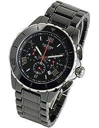 COGU コグ 腕時計 クロノグラフ セラミック ブラック/ブラック CRM2-BBK