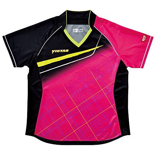 VICTAS(ヴィクタス) VICTAS V-LS037 Viscotecs ゲームシャツ Women's L ピンク