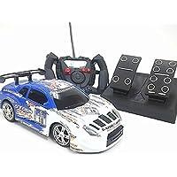 アクセルドライビングカー◇ペダル付きコントローラーラジコンカー/トヨタレクサスLFAレーシングカータイプ
