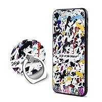 LASATA-MT ONE OK ROCK ワンオケロック OOR iPhone7/8ケース対応 スマホケース Magcase 軍用防弾チョッキ素材アラミド繊維 超薄(0.65mm) 超軽量(14g) 超頑丈 耐衝撃 高耐久性 スリム 薄型 ワイヤレス充電対応 (黒)