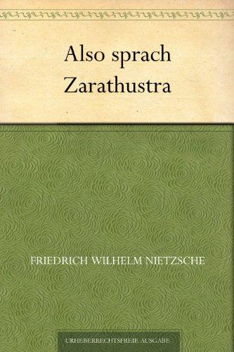 Also sprach Zarathustra (Germa...