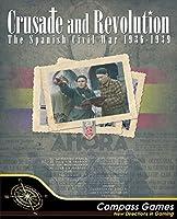 CPS: Crusade and Revolution, The Spanish Civil War 1936-1939, Board Games [並行輸入品]
