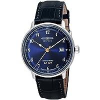 [ツェッペリン] 腕時計 Hindenburg ネイビー文字盤 7046-3 並行輸入品 ブルー [並行輸入品]