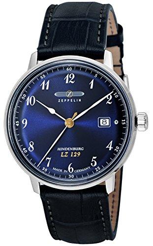 [ツェッペリン]ZEPPELIN 腕時計 Hindenburg ネイビー文字盤 7046-3 メンズ 【並行輸入品】