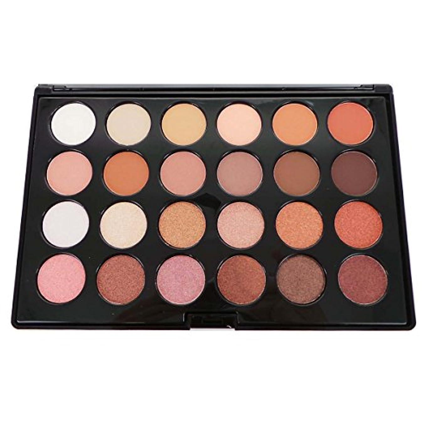 曇った浴地雷原CITY COLOR Matte & Shimmer 24 Shade Shadow Palette - Daily Essentials (並行輸入品)