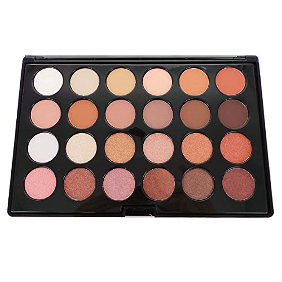 CITY COLOR Matte & Shimmer 24 Shade Shadow Palette - Daily Essentials (並行輸入品)