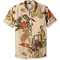 Quiksilver Men's Hibashii Short Sleeve Button Down Shirt