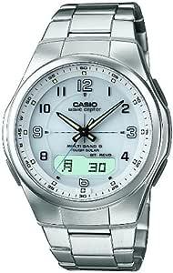 [カシオ] 腕時計 ウェーブセプター WVA-M600D-7AJF シルバー