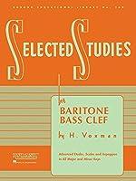 Selected Studies: For Baritone B.c.