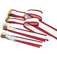 【セット品】 GOLD SHACHI 紅白ペナント 各種サイズ トロフィー?優勝カップに勝者を記録するリボン 樹脂加工済み
