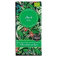 ミント100グラムとC&L 67%ダークチョコレート - C&L 67% Dark Chocolate with Mint 100g [並行輸入品]