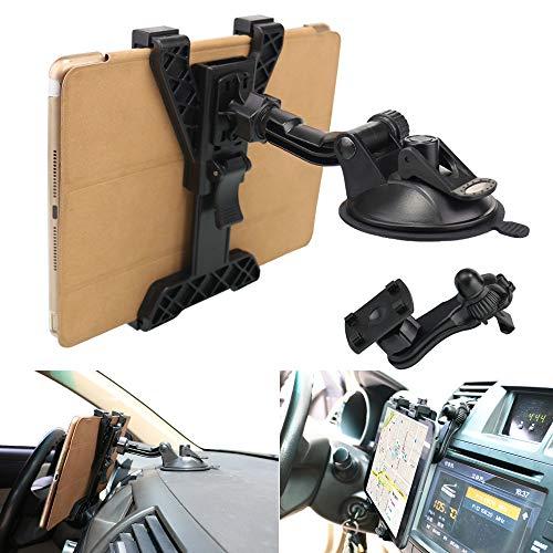 タブレットホルダー、OHLPRO 車載タブレットスタンド 自動車エアコン吹出口/フロントガラス/ダッ...